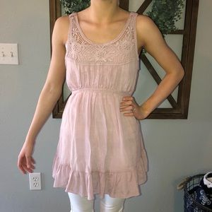 Mine Pink Dress Top